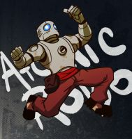Atomic Robo commission by ragweed