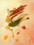 Fall into Fall by Dragoono