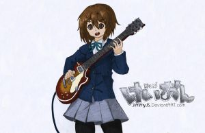 Yui Hirasawa (K-On!) by JimmyJS