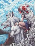 Princess Mononoke by LilleahWest