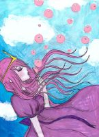 princess bubblegum... by NENEBUBBLEELOVER