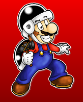 Hammer Mario by MushroomWorldDrawer