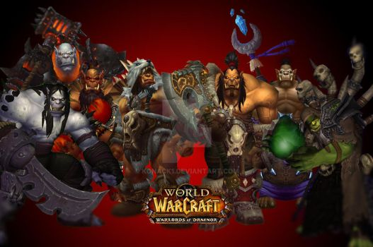 Warlords of Draenor by Konack1