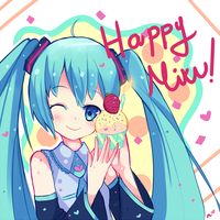 Happybdaymiku by Ipun