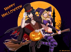Happy Halloween _ GrayLu by Milady666