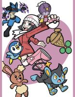 Pokemon Trainers - Pearl by Toug-2000