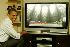 Obama is watching the summit by sashun08