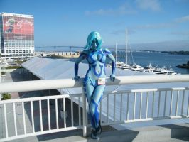 Cortana costume2 by solo-knight6