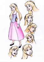 Eilonwy Character Sheet Colored by Shirekat