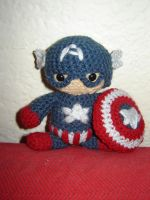 Captain America by Ginger-PolitiCat
