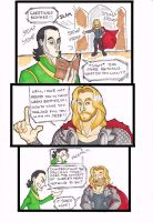 Thor x Loki - Too Much Info by puking-mama