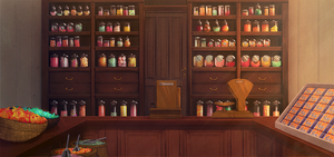 The Blind Griffin: Candy Store by Auro-Cyanide
