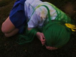 Painful memories - Higurashi - Shion - Cosplay by ViikateFretti