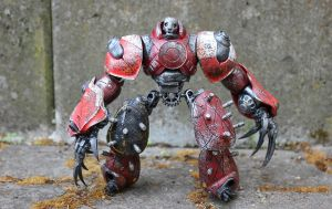 assemblage heavy soldier by rupertvalero