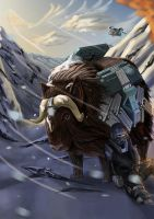 Muskox by Loone-Wolf