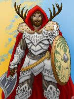 Ullr as a Guardian by Mike-Tr