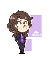 Meg Masters by BlueMagnet