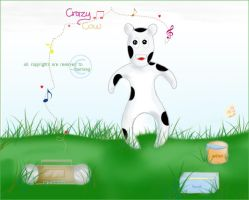 Crazy Cow by charming-uae