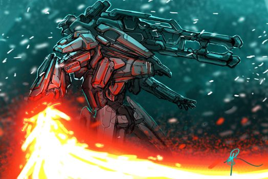 Winter Mech [dormin] by onlychasing-safety