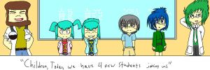 H A T H - We Have New Students by YamiNetto