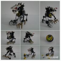 MOC: Chibi Cat Beast by randomemaster360