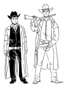 Cowboys by octofied