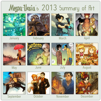 Summary Meme 2013 by Megan-Uosiu
