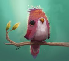 Bird sketch by Save-The-Dinosaurs