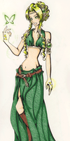 Goddess of Courage: Farore by ashiey-chan
