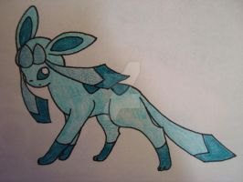 Glaceon by cameragirl123