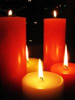 Christmas candles III by vonderwall