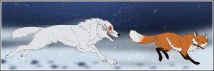 You Can't Catch Me by Zerwolf