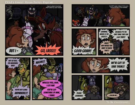 FNAF4 Comic - House Party - Page 68 - 5-19-17 by Mattartist25