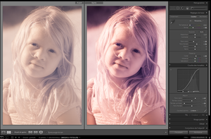 Process of infrared Portrait by jeje62