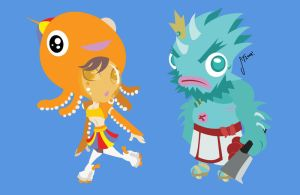 SPRITES: Creatures of the sea by chinaguy16