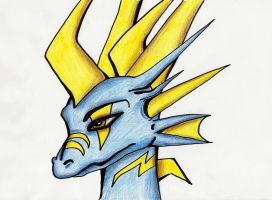 Kalypso - Headshot by IcelectricSpyro