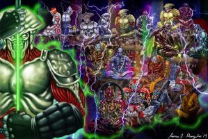 Yoshimitsu Evolution by Grapiqkad