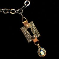 Victorian Steampunk Necklace by Om-Society