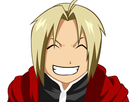 Edward Elric Lineart Colored by Bugha1