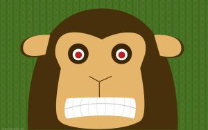 Angry Monkey by surlana