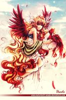 +Eos and Phoenix+ by Red-Priest-Usada