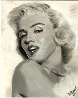 Marilyn Monroe by sketchychick