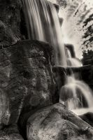Rocky Falls by sciph