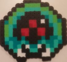 Baby Metroid - Bead Sprite by AngrehToast