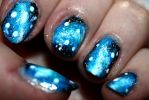 Galaxy Nail Art by Foxy333