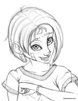 Babs Seed Portrait [SKETCH] by Locolimo