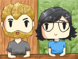 Good Mythical Morning by stitchedBones