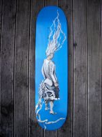 Skateboard deck -after Tanning by wundercookie