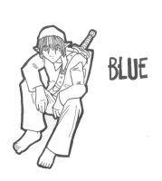 Blue--uncolored by jlewis413