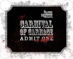 Carnival of Carnage: Ticket by brettattack